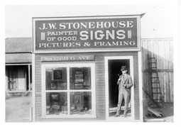 Stonehouse Signs Founder J.W. Stonehouse