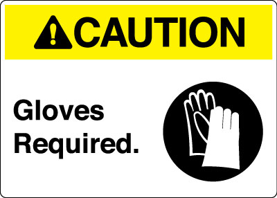Hand Protection Personal Protection Signs Stonehouse Signs