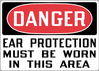 Ear Protection Personal Protection Signs Stonehouse Signs