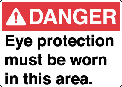 Eye Protection Personal Protection Signs Stonehouse Signs