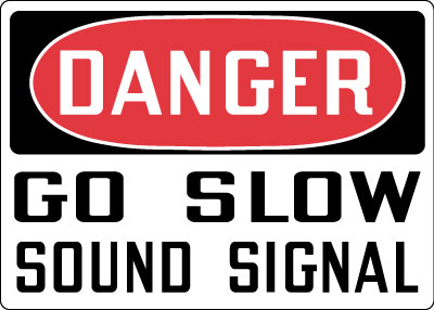 Stonehouse Signs OSHA Vehicle Safety / Truck Signs