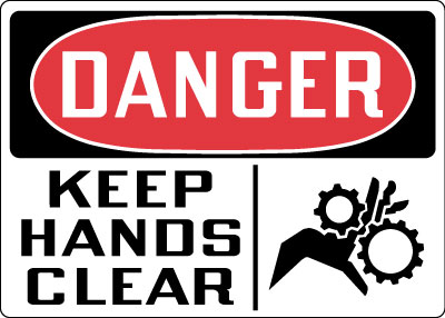 Stonehouse Signs OSHA Equipment / Machine Safety Signs