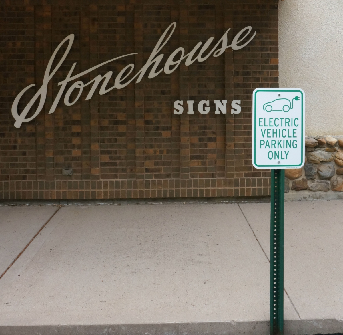 Stonehouse Signs Hybrid / Electric Vehicle Parking Only Reserved Parking Signs