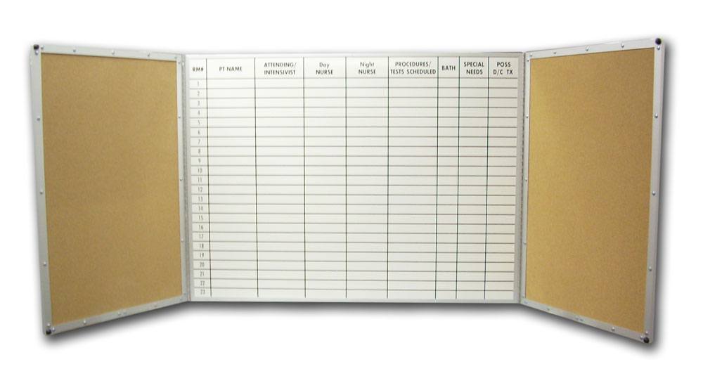 Stonehouse Signs Custom Folding Dry Erase Board