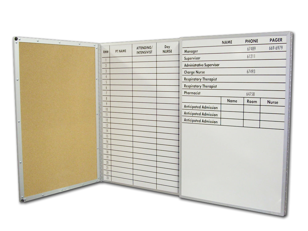 Stonehouse Signs Custom Folding Dry Erase Boards