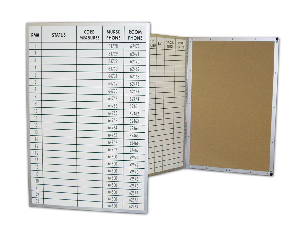 Stonehouse Custom Folding Dry Erase Boards