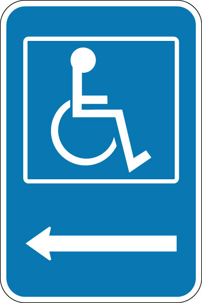 Bathroom Sign Handicap handicap parking signs | stonehouse signs