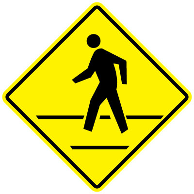 Stonehouse Signs MUTCD 2009 Compliant Pedestrian Crossing Signs