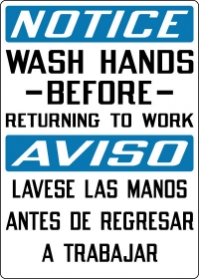 Bathroom Signs English And Spanish spanish signs/signs in spanish | stonehouse signs