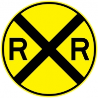 Stonehouse Signs Railroad Crossing Sign