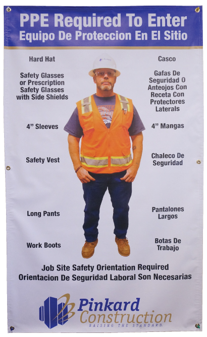 Stonehouse Signs Custom Safety Banners