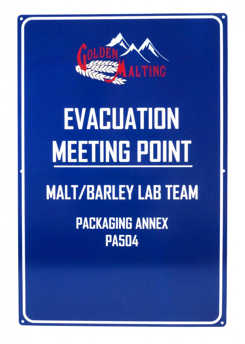 Product Spotlight Emergency Shelter And Evacuation Signs