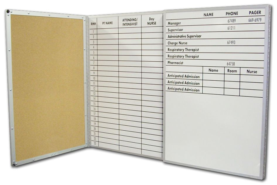Stonehouse Signs Custom Folding Magnetic Dry Erase Boards