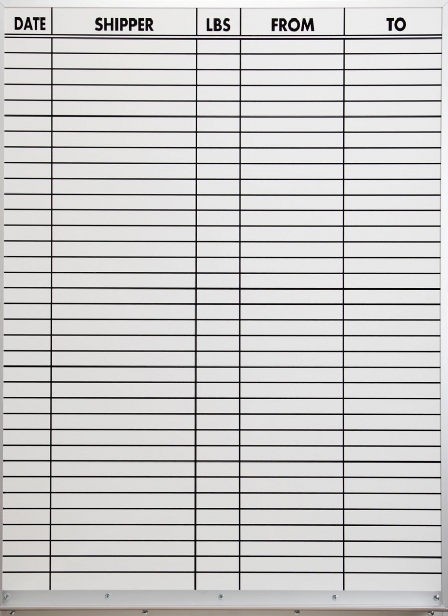 Whiteboard Door Sign Magnetic Dry Erase White Board With
