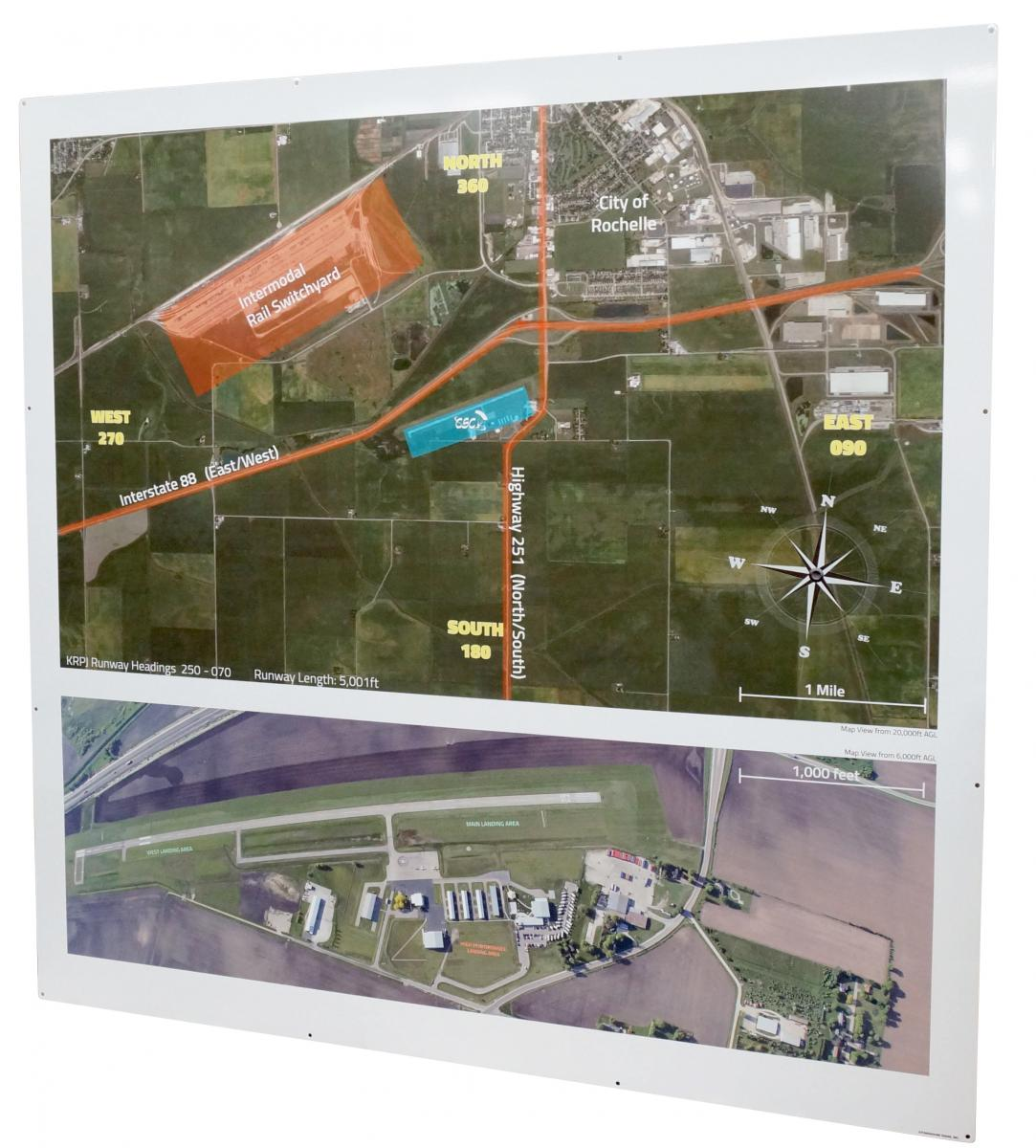 custom outdoor signs for skydiving center stonehouse signs