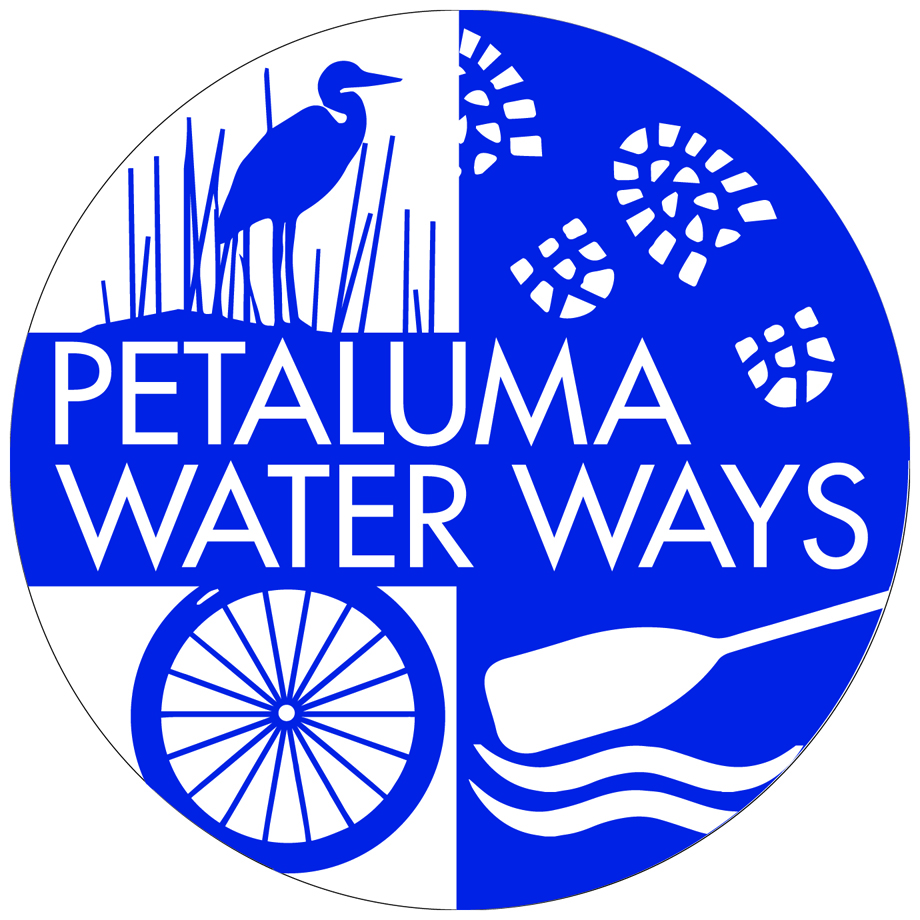 Image of Stonehouse Signs Custom Baked Enamel Sign for Petaluma Water Ways