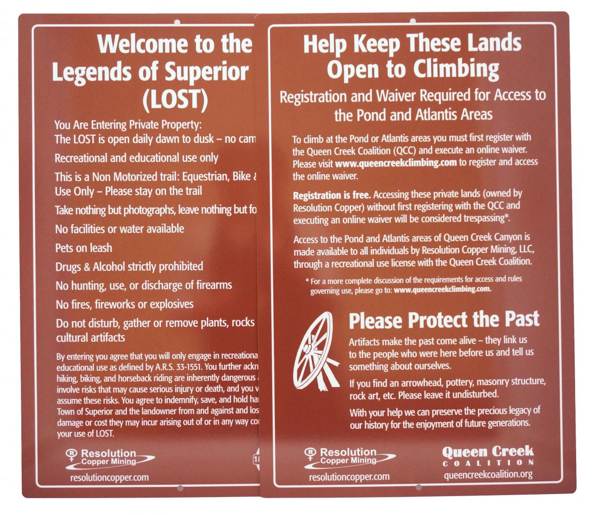 product spotlight custom trail signs stonehouse signs