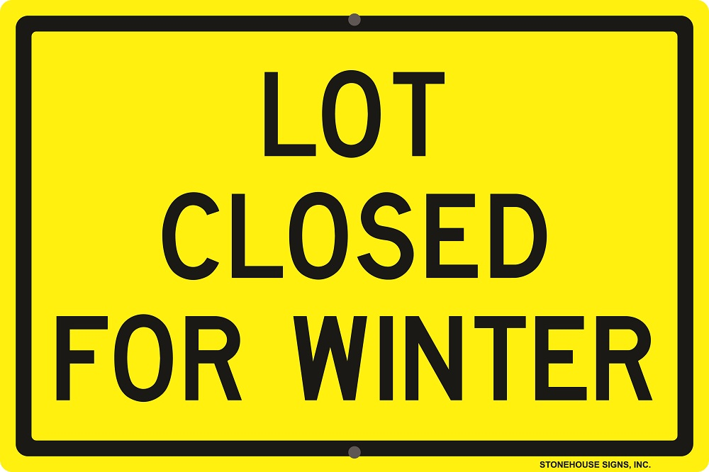 Is Your Workplace Winter Ready Stonehouse Signs