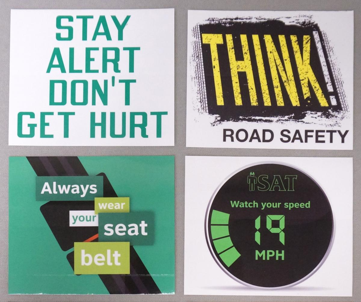 Stonehouse Signs Custom Vinyl Decal Safety Stickers