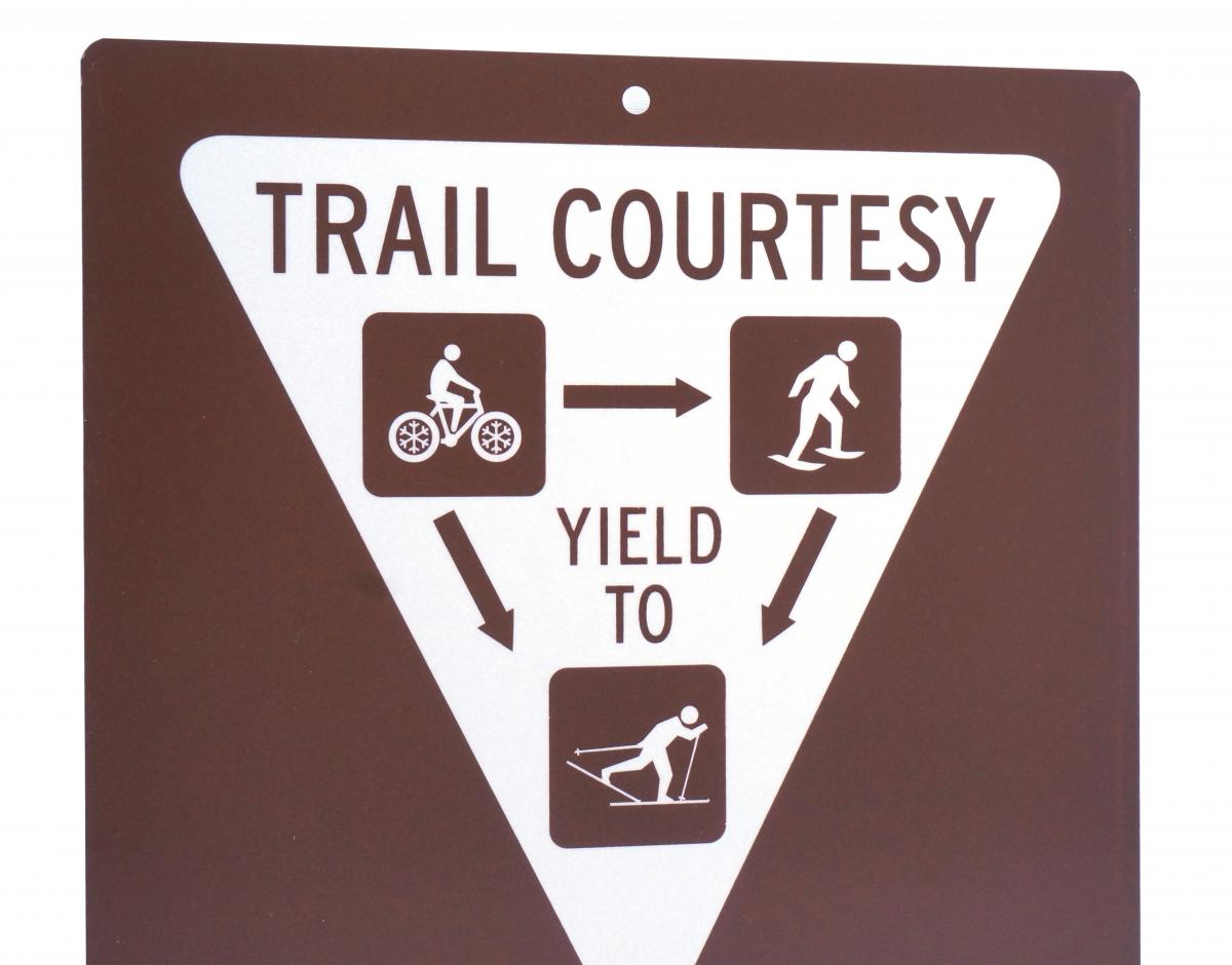 Custom Trail Signs For Colorado Trail Stonehouse Signs