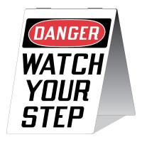 Stonehouse Signs Danger Watch Your Step Sign