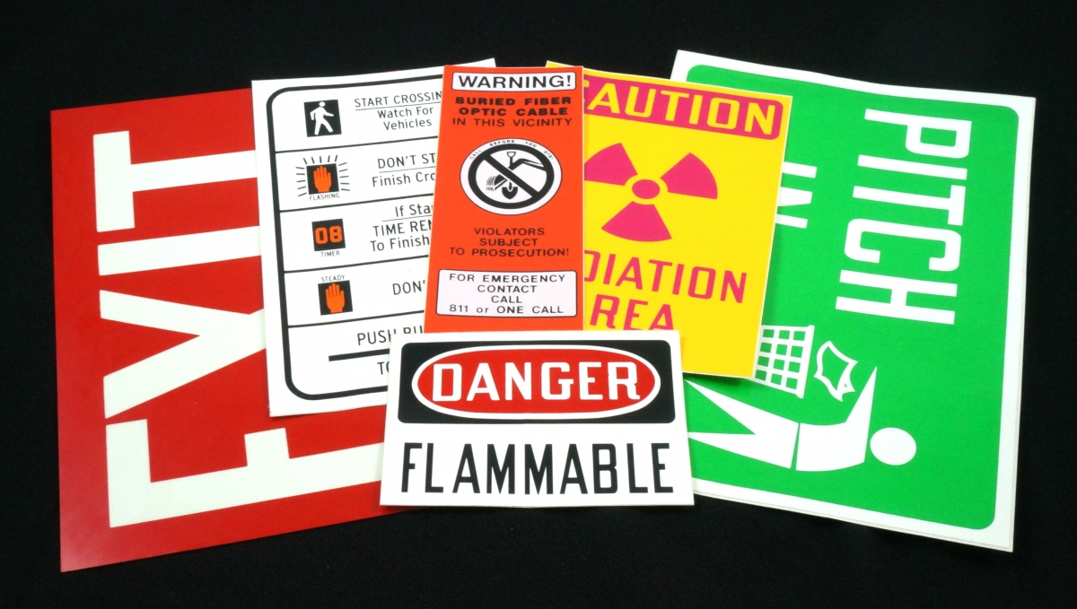 Stonehouse Signs Safety Labels and Decals