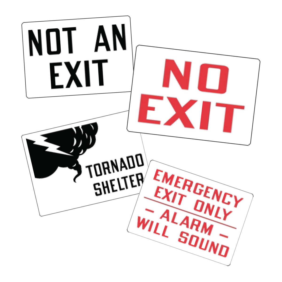 Stonehouse Signs Directional Vinyl Labels Decals