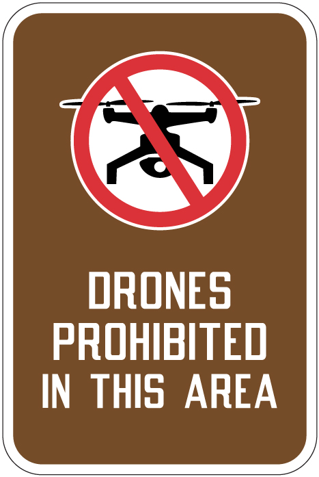 Stonehouse Signs Drones Prohibited In This Area Sign