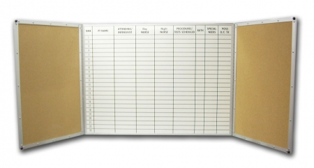 Stonehouse Signs Custom Folding Magnetic Dry Erase Board