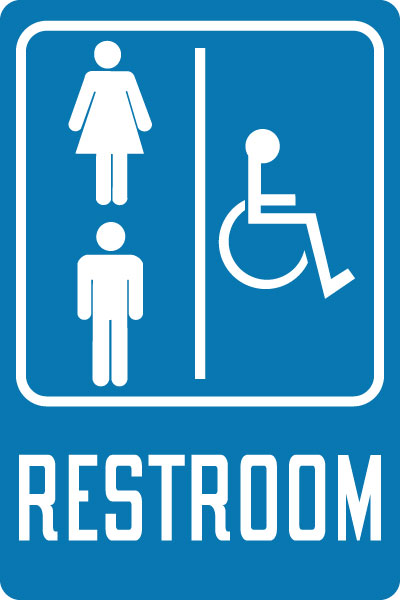 Gender Neutral Bathroom Signs Stonehouse Signs