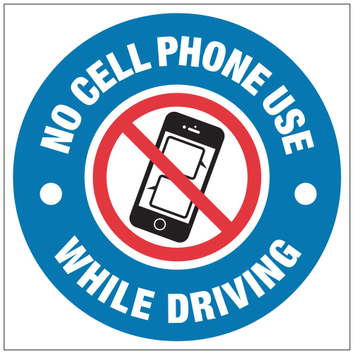 Stonehouse Signs No Cell Phone Use While Driving Sign