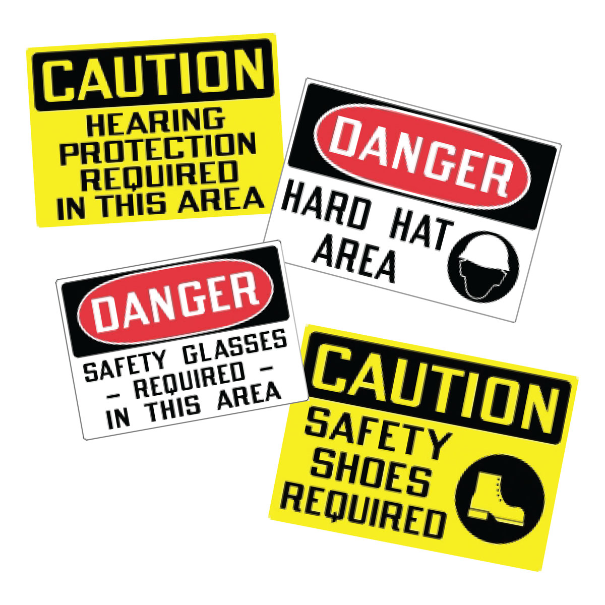 Stonehouse Signs PPE Personal Protective Equipment Vinyl Safety Labels and Decals