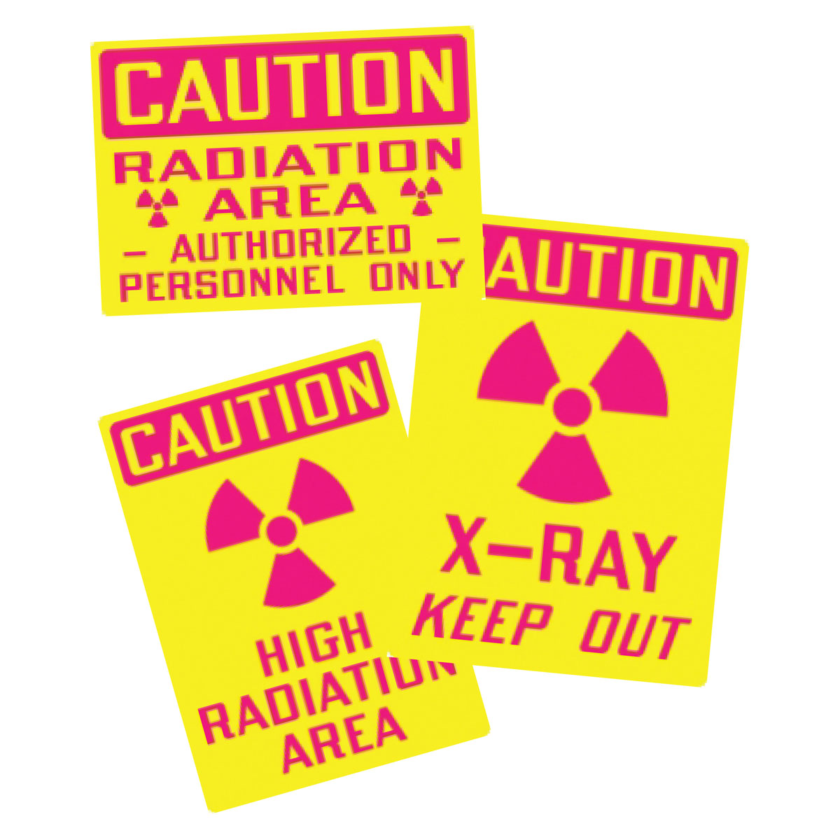 Stonehouse Signs Radiation Hazard Vinyl Safety Labels and Decals