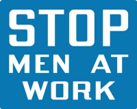 Stonehouse Signs Railroad Signs Stop Men At Work Sign