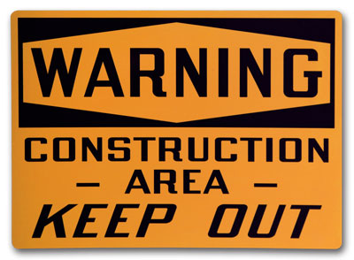 Custom Safety Signs- Change Up the hazard level for any standard sign.