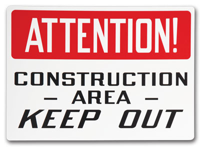 Custom Safety Signs- Change It Up and create your own custom header.