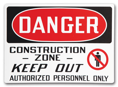 Custom Safety Signs- Change It Up and select any of the options you see to get exactly what you need!
