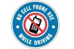Stonehouse Signs No Cell Phone Use While Driving Custom Sign