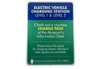 Stonehouse Signs Custom Electric Vehicle Charging Station Signs