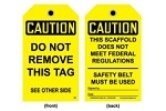 Stonehouse Signs Scaffolding Tags
