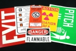 Stonehouse Signs ANSI / OSHA Safety Labels & Decals