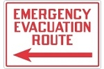 Stonehouse Signs Emergency Preparedness Emergency Shelter and Evacuation Signs