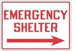 Stonehouse Signs Emergency Shelter and Evacuation Signs