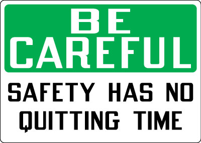 workplace safety procedures and instructions