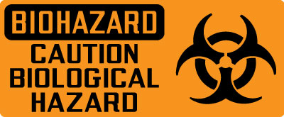 biohazard sign biohazard caution biological hazard with symbol