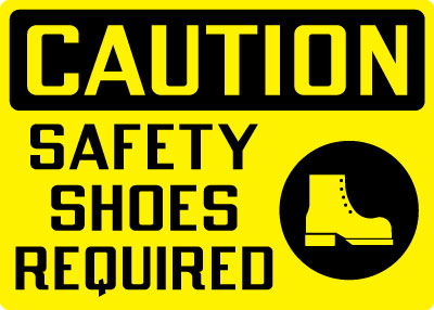 Science Lab Safety Closed Toe Shoe