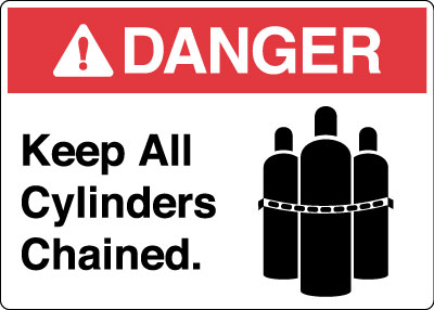 Hazardous Chemicals And Materials Sign Danger Keep All
