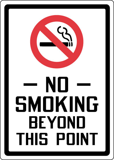 This is an image of Dynamite No Smoking Sign Printable