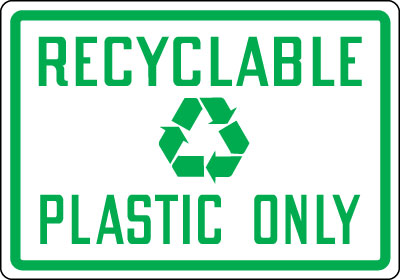 Recycling Signs Plastic Recycling and Energy C...