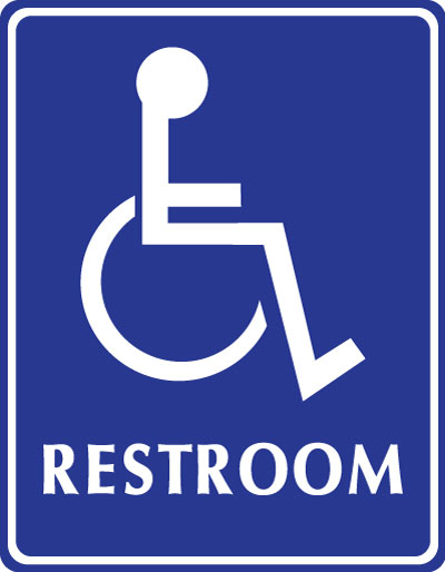 Http Stonehousesigns Com Product Adabraille Signs Restroom Handicap Accessible Symbol